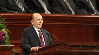 Mormon Church President Thomas Monson Dies At 90 - Video