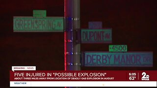 5 people injured in possible explosion; neighbor reacts