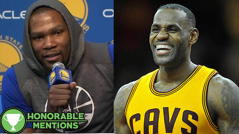 Kevin Durant CALLS OUT LeBron James for Cold Showers in the Warriors' Locker Room in Cleveland -HM