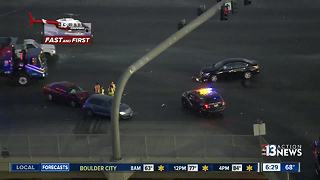 TRAFFIC: 3 car crash near Cheyenne, I-15 - Video
