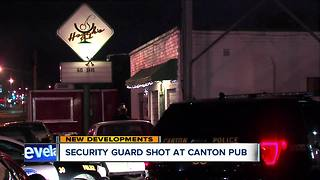 Security guard shot, cops call bar 'dangerous' - Video