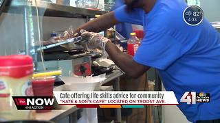 New KC cafe offers lattes and life coaching - Video