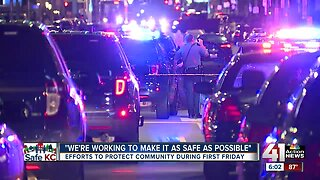 Efforts to protect community during First Fridays