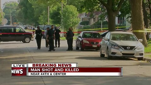 Man shot and killed near 44th and Center