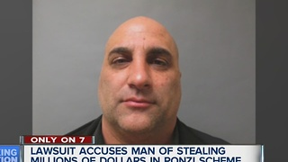 Man accused of stealing million in Ponzi scheme