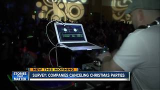 Companies canceling holiday parties - Video