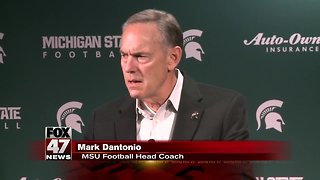Dantonio announces staffing changes for Spartans football - Video