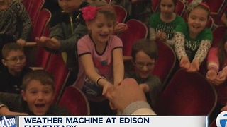 Andy Parker's Weather Machine Visits Thomas Edison Elementary - Video