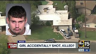 Mesa man arrested for accidentally shooting, killing 17-year-old girlfriend - Video