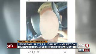 Threatening Instagram posts could lead to trouble for high school football player, team - Video