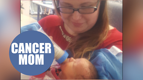 Miracle baby welcomed after mom was diagnosed with cancer suffers brain injury