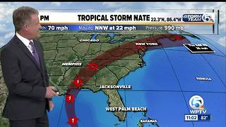 Tropical Storm Nate prompts hurricane warning for metropolitan New Orleans - Video