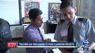 Colorado teachers are turning to crowdfunding sites to pay for school supplies - Video