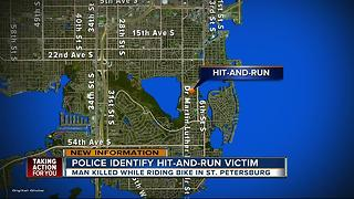 Bicyclist killed in hit-and-run in St. Pete - Video