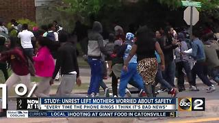 Study: Mothers' stress levels increase after 2015 unrest - Video