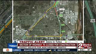 Expect delays on Highway 75 north until July - Video