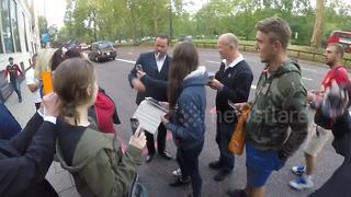 Danny Dyer mobbed by fans in London - Video