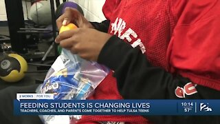 Changing students' lives through food and support