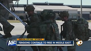 Tensions rise in Middle East