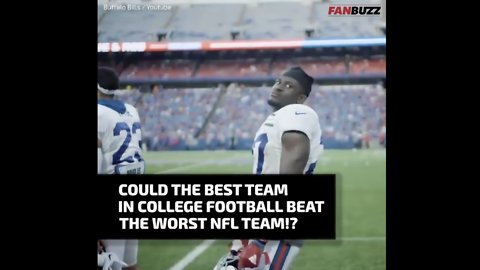 Could a College Football Team Ever Beat an NFL Team?