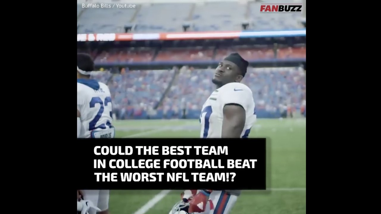 Could A College Football Team Ever Beat An Nfl Team