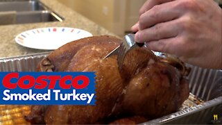 Kirkland Smoked Turkey from Costco Review | Chef Dawg