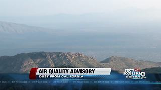 PDEQ issues air quality advisory - Video