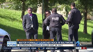 Roca program aiming to reduce crime in young adults begins in Baltimore - Video