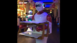 Robots Are Now Serving Food at a Restaurant in Nepal