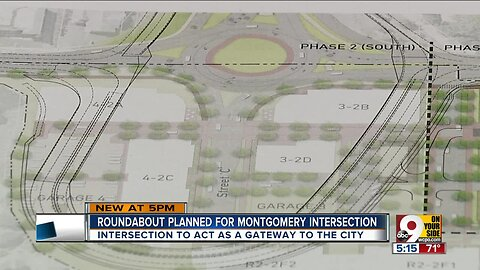 Roundabout planned for Montgomery intersection