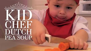 Kid Chef: How (not) to make Dutch Pea soup - Video