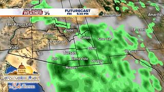 FORECAST: Strong t-storms possible