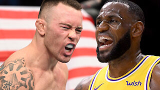 "LeBron James Claps Back After UFC's Colby Covington Calls Him A ""Spineless Coward"""