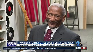 Ronnie's story: A little love goes a long way