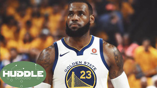 Will LeBron James ACTUALLY Go to the Warriors? -The Huddle - Video