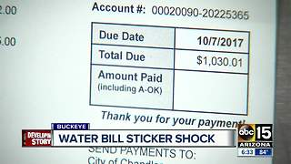 Is your water bill giving you sticker shock? - Video