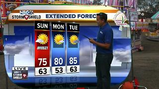 Cameron's Weather Roadshow at Lakewood Mardi Gras - Video
