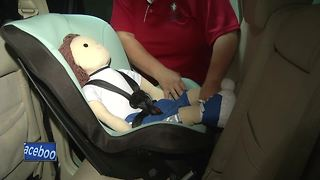 Child car seat checkup - Video