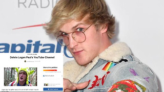 Logan Paul MOCKS Petition to Have Him Banned from YouTube