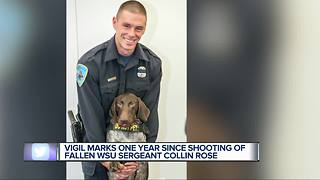 Collin Rose remembered at vigil - Video
