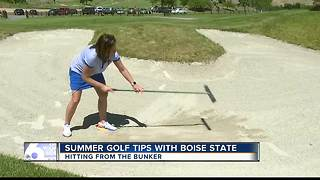 Summer Golf Tips Hitting out of the Bunker - Video