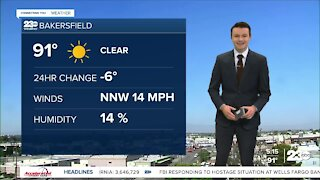 23ABC Evening weather update May 6, 2021