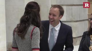 Kate Middleton glows at art exhibit expansion | Rare People - Video