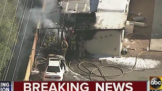 Mesa mobile home fire leaves 1 dead - Video