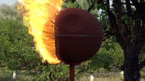 This Death Star Is No Match For The Force Of Fire! Man Recreates The Iconic Death With Matchsticks Only To Set It Alight And Watch It Burn