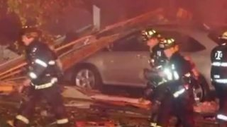 For the first time, the first firefighters on scene at the Richmond Hill Explosion talk about that night - Video
