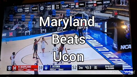 MARYLAND UPSETS UCON