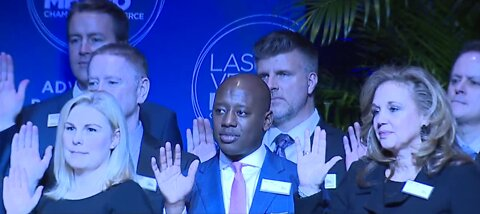 2020 Las Vegas Chamber of Commerce swearing in ceremony
