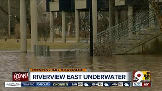 Cincinnati Public Schools' Riverview East Academy is closed for flooding - Video
