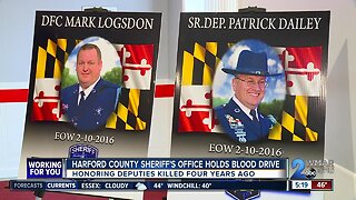 Harford County Sheriff's Office holds blood drive